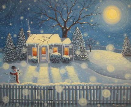 Mary Charles-snowmans-cottage