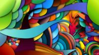 Abstract Digital Art - Colorful You Abstract by Sheila Mcdonald