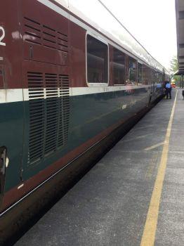 Amtrak at Lacey, WA depot