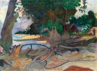 Paul Gauguin (French, 1948–1903),  Te Burao (The Hibiscus Tree) (1892)