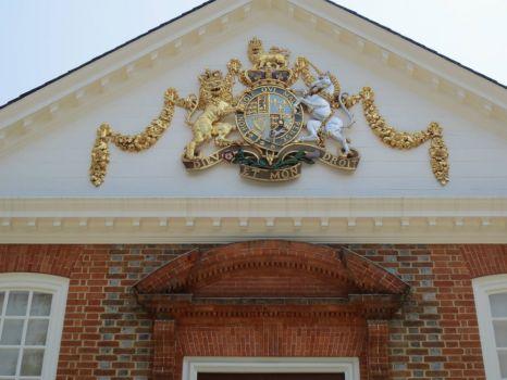 Coat of Arms, Governor's Palace, Williamsburg, VA