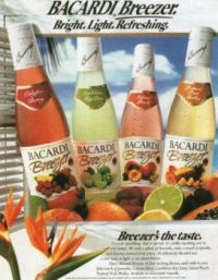 90's Ads {Bacardi}