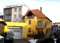 Uherské Hradiště in yellow
