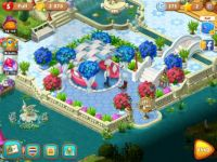 Gardenscapes in blue