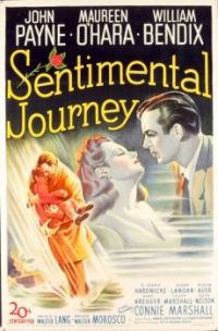 SENTIMENTAL JOURNEY - 1946 POSTER   JOHN PAYNE, MAUREEN O'HARA, WILLIAM BENDIX