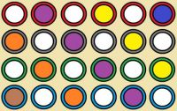 Wobblybear Creations 618 - (now FREE to own) - Abstract circles (Medium)