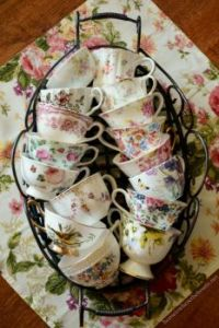 You Can Never Have Too Many Pretty Teacups!