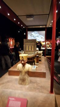King Tut exhibition