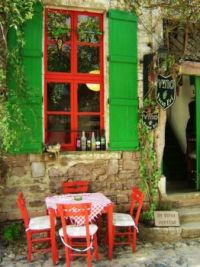 Outdoor Dining ~ Cunda Island