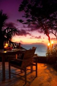 Sunset in Paradise