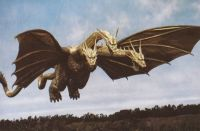 Ghidorah in flight