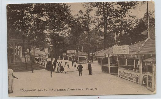 Palisades Amusement Park in New Jersey