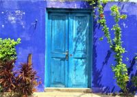 THEME:  Doors/Windows  .....  Colourful Door on Guraidhoo