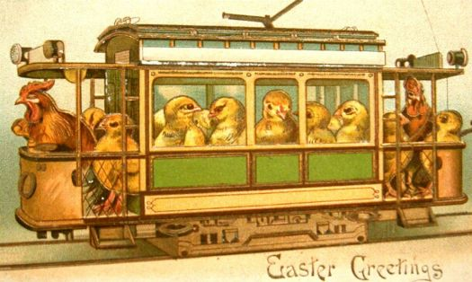 Easter Trolley