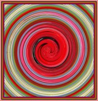 A Swirl of Red.