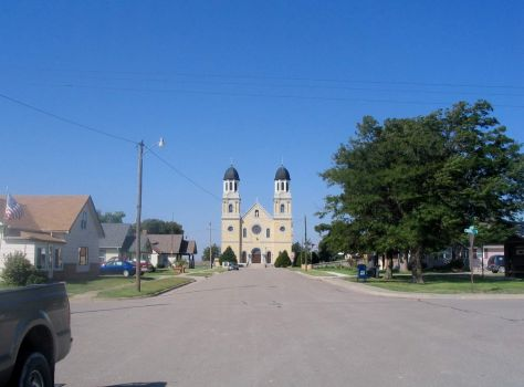 St. Joseph Catholic Church at Damar, Kansas