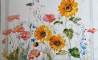 Wild Flowers       Original Art by Danhui Nai Wild Apple licensing