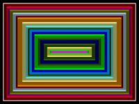Concentric Rectangles Satinized 588