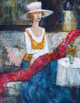 Ludmila Curilova's paintings