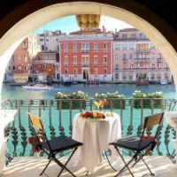 Breakfast with a view: Venice, Italy