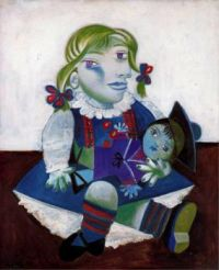 "Unusual Painting, ""Maya With Her Doll""  By  Picasso.... Interesting Story"