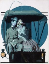 Couple in Buggy