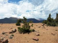 Almagre Mtn. and Pikes Peak