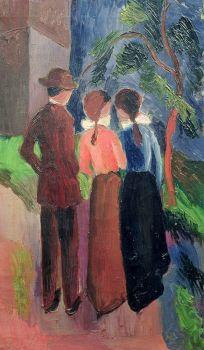The Walk by August Macke