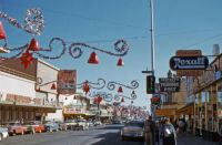 Christmas Main Street, 1950's