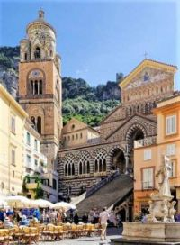 The Cathedral of Amalfi, Italy