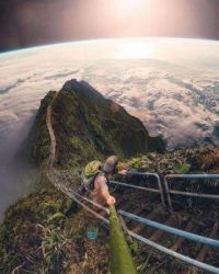 Stairway to Heaven, Honolulu, Hawaii