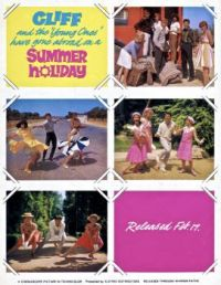 SUMMER HOLIDAY - CLIFF RICHARD - 1963 TEASER AD.