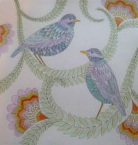 Bird 5 - coloring book