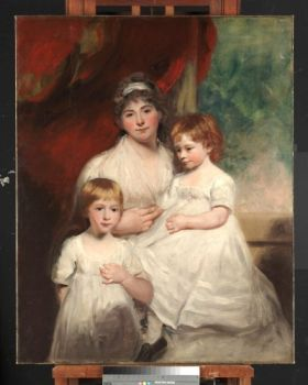 a mother and her children, 1790