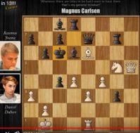 Svane vs Dubov Mate in 13 moves