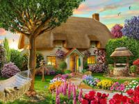 Thatched Spring Cottage