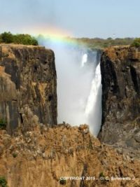 ZAMBIA – Victoria Falls – View from the Zambian side