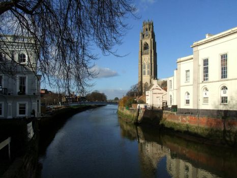 The River Witham - 30th January 2008