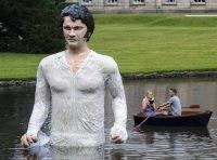Colin Firth as Mr. Darcy (this is so wrong... and creepy...)