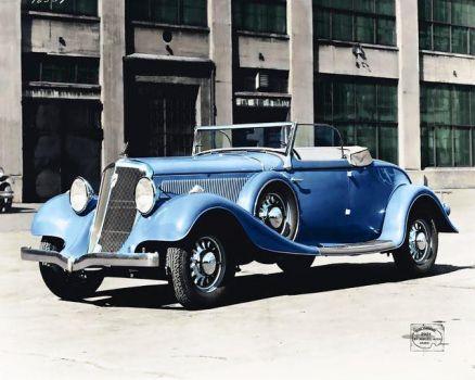 1933 Studebaker President Eight Cabriolet