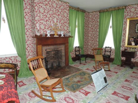 The Sitting Room of Lincoln's Home