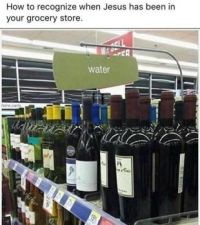 How to recognize when Jesus has been in your store