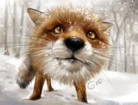 doodle_121___red_fox_close_up_by_giovannag-d64fwhh