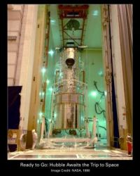 Hubble Awaiting Trip to Space