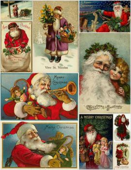Vintage Christmas Cards #2