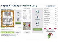 Happy Birthday Grandma Lucy
