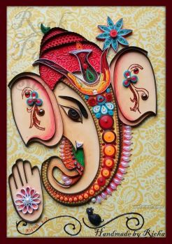 Elephant Paper Quilling