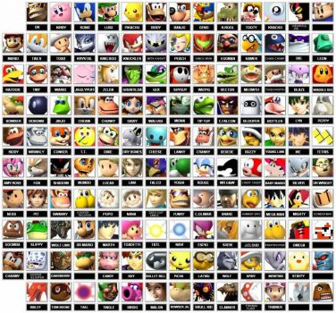 Super Smash Bros. characters