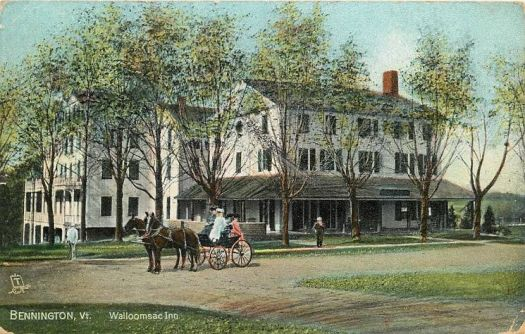 Walloomsac Inn in earlier days