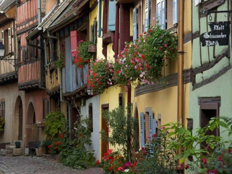 Eguisheim Commune in Alsace France